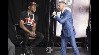 Conor McGregor Goes After Showtime, Floyd Mayweather  in Speech - MMA Fighting