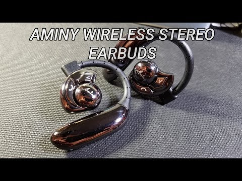 Aminy Wireless Stereo Earbuds