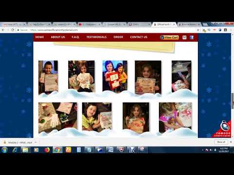 Get A Personalized Postcard From Santa Claus For Your Family
