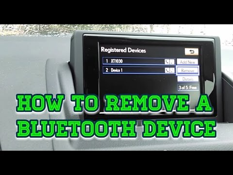 SO EASY to remove a Bluetooth Device Explanation
