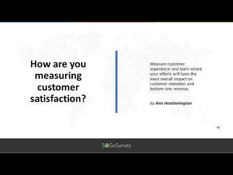 SoGoSurvey: Measuring Customer Satisfaction