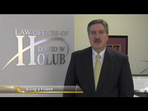 Does Suing a Friend Require Ending the Friendship?   Indiana Lawyer Discusses