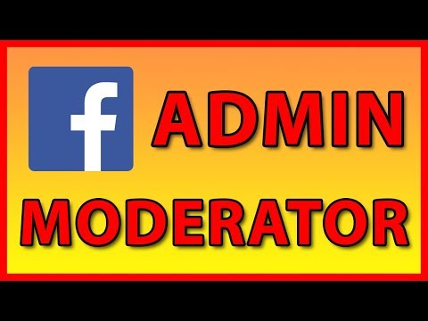 How to add a new Admin / Moderator to a Facebook Page or Group (2019)