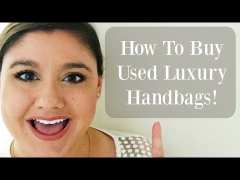 How & Where to Buy Pre-Loved / Used Designer Handbags