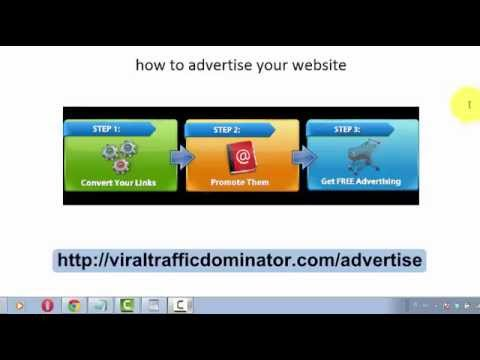 Free Website Traffic - Viral Advertising