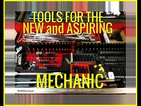 TOOLS For The NEW MECHANIC and the Aspiring Mechanic - TOOL BOX TOUR