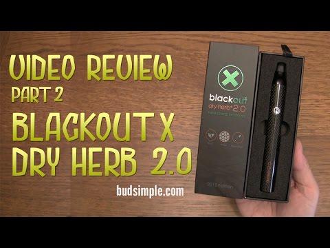Blackout X Dry Herb 2 0 Review - Part 2 (Budsimple.com)