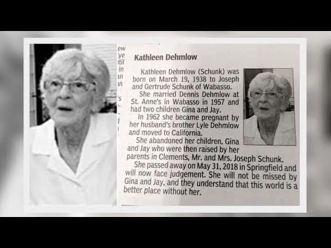 She Will Not Be Missed! Children write savage obituary for mother who abandoned them