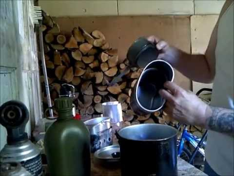 How to make salt water drinkable, with bushcrafting pots