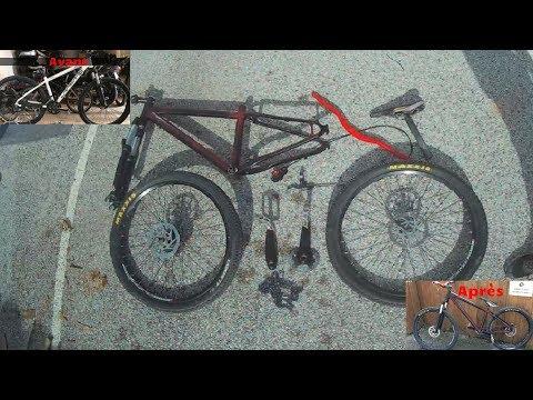 On transforme ce XC  en Dirt !!! // Building Bike