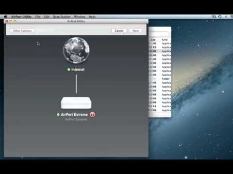 How to Extend your Airport Wireless Network (Mac)