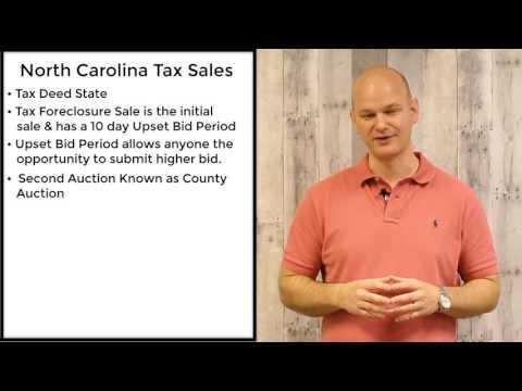 North Carolina Tax Sales - Tax Deeds