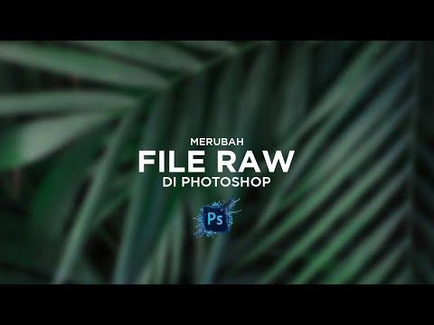 Cara Merubah Format RAW/CR2 Menjadi JPEG Di Photoshop