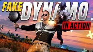 FAKE DYNAMO IS LIVE | DYNAMO TROLLING RANDOMS IN PUBG MOBILE