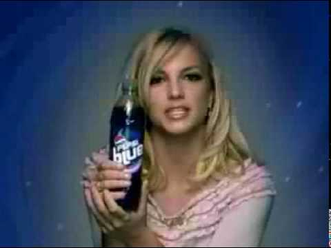 Britney Spears - Pepsi Blue Xmas (Commercial)