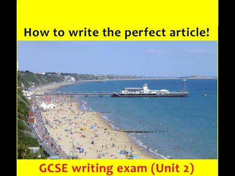 9-1 GCSE English Language: ARTICLE Writing (NEW and UPDATED 2017!)