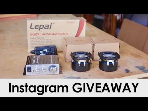 Instagram GIVEAWAY! + Maker Faire Bay Area & Other Updates
