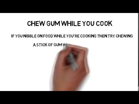 Chew Gum while you cook - Loseweightveryfast
