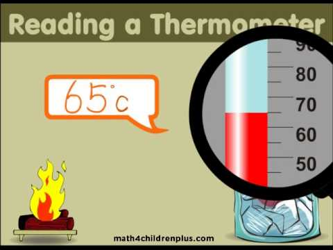 Reading a thermometer video for children to learn.