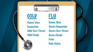 Is It a Cold or the Flu? Here
