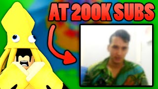FACE & VOICE REVEAL at 200,000 SUBSCRIBERS! (INSANE) | Roblox