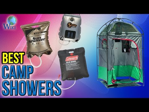 8 Best Camp Showers 2017