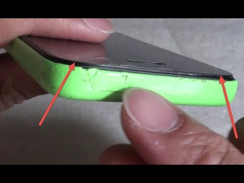 iPhone 5C: How to Fix Lifting / Separating Screen Front Glass