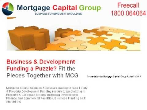 Australia -Mortgage Capital Group: Private Equity, Business, Construction & Development Funding