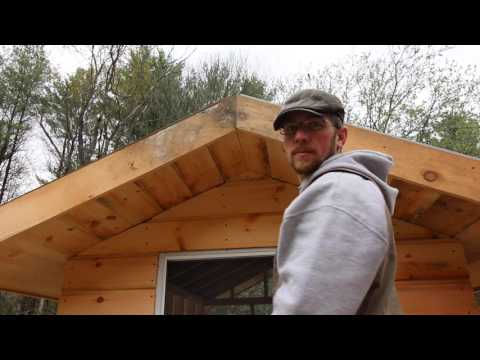Getting the soffits done! Mobile chicken coop Build #8