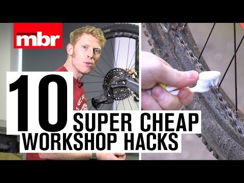 10 Cheap Workshop Hacks | Mountain Bike Rider