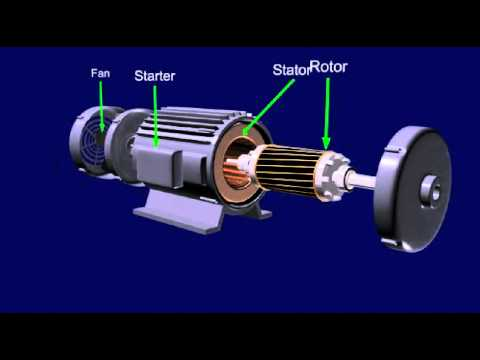 AC Motor Animation Video