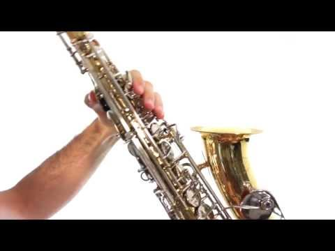 Saxophone Lesson 5: First Notes