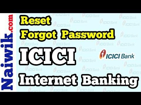 Reset Forgot password online | Generate Password | ICICI Bank Internet Banking