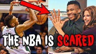 Why NBA STARS are TERRIFIED of Giannis Antetokounmpo