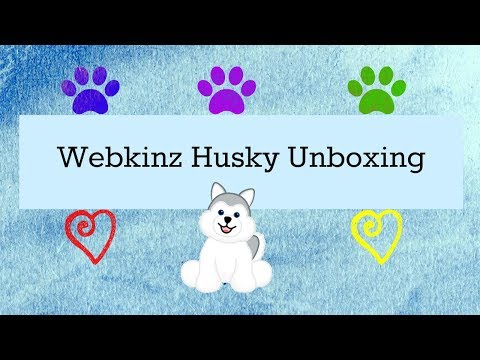 [Unboxing] Webkinz Husky ^_^