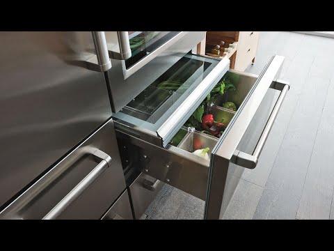 Sub-Zero Fridge Condenser Cleaning