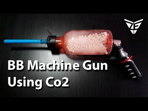 Mini Airsoft Machine Gun (Co2 full Auto BB Gun)
