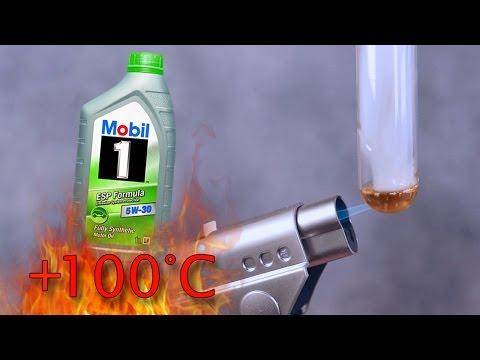 Mobil 1 ESP Formula 5W30 Jak czysty jest olej silnikowy? Test powyżej 100°C