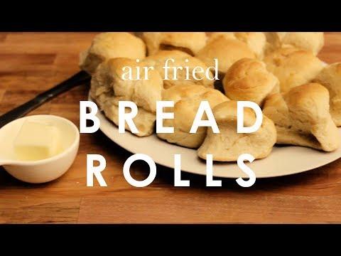 Air Fried Bread Rolls