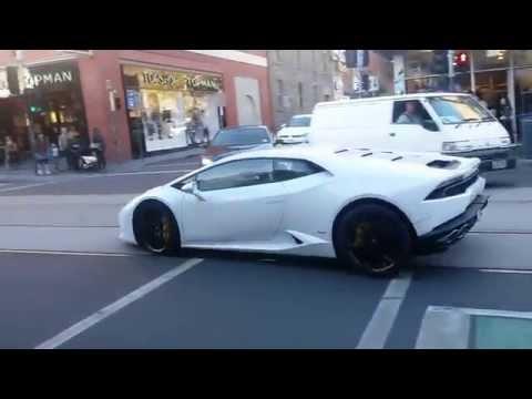 Lamborghini Huracan Exhaust Crackle Melbourne