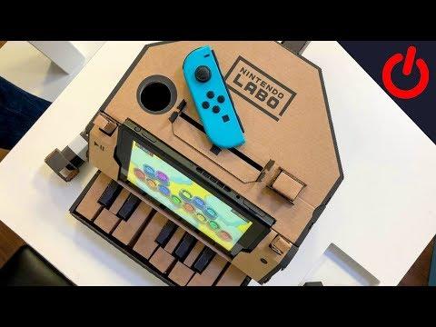 Nintendo Labo - Hands on with the fun cardboard kits
