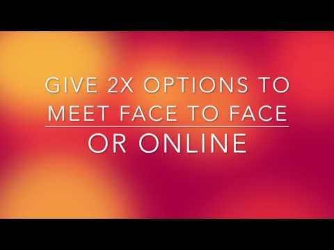 Video Tip - Invite with texting - WhatsApp/Viber/FB messenger etc