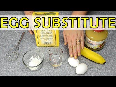 Egg Substitute: Baking Quick Tip from Cookies Cupcakes and Cardio