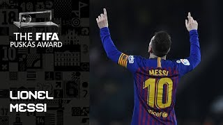 FIFA PUSKAS AWARD 2019 NOMINEE: Lionel Messi