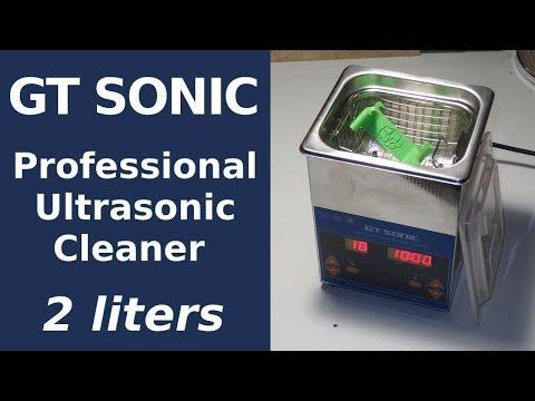 GT SONIC Profesional Ultrasonic Cleaner Test - Sub EN