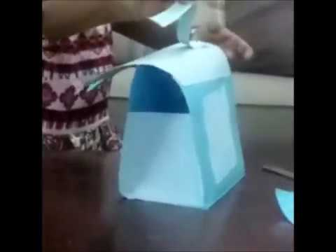 how to make a bag with paper