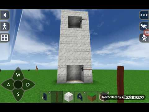 How to make a basic elevator in survival craft 2