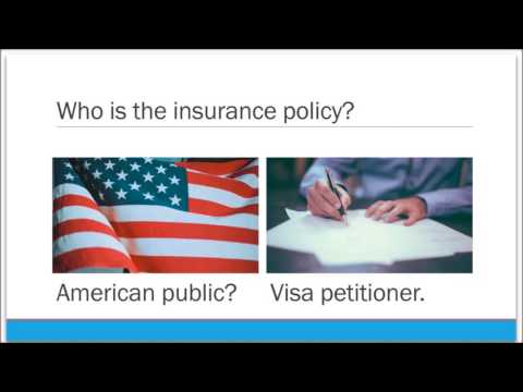 Recovering financial compensation under the Form I-864