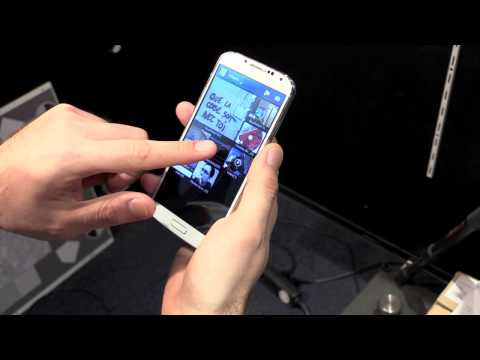 Samsung Galaxy S4 TouchWiz Gesture