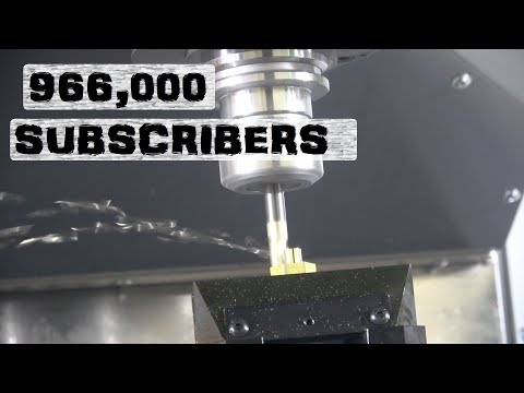 One Million Subscribers   Town Pump CNC